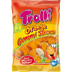 Trolli Orange Gummi Slices