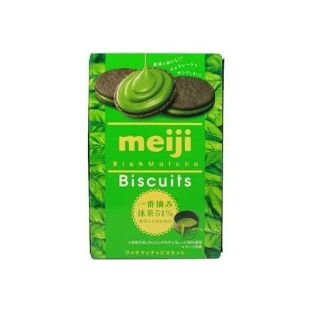 Meiji Matcha Biscuits