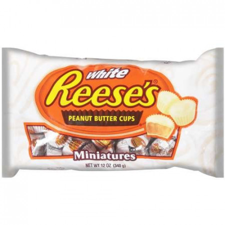Reese's White Miniatures