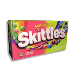Skittles Sweet and Sours BOX