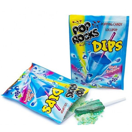 Pop Rocks Dips Blue Raspberry