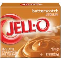 Jell-O Butterscotch
