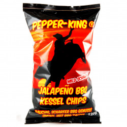 Pepper-King Jalapeno BBQ Kessel Chips