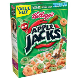 Kellogg's Apple Jack Larger Box