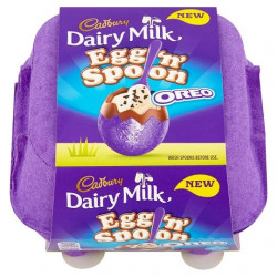 Cadbury Dairy Milk Egg and Spoon Oreo