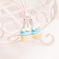 Kolczyki Cupcake Blue