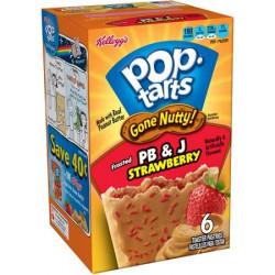 Pop Tarts Frosted PB & J Strawberry