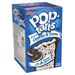 Pop Tarts Frosted Cookies & Creme