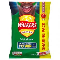 Walkers Salt and Vinegar 175g