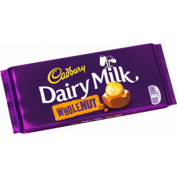 Cadbury Dairy Milk Whole Nut Chocolate 200g