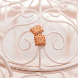 Kolczyki Biscuit