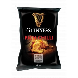 Guinness Chips Rich Chilli 40g