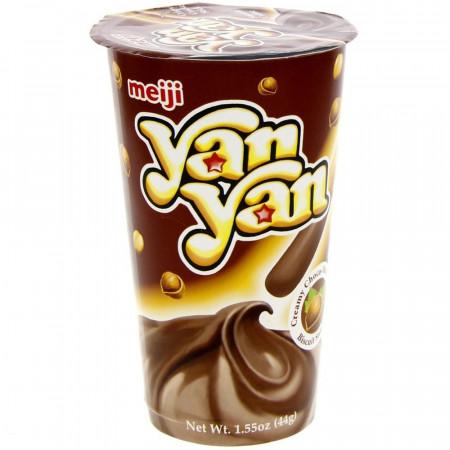 Meiji Yan Yan Choco-Hazelnut Snack