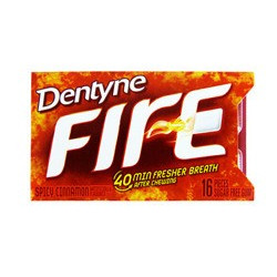 Dentyne Cinnamon Fire
