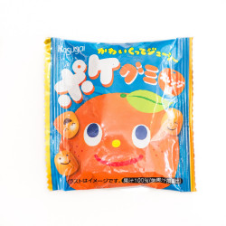 Kasugai Orange Gummy Candy Pocket