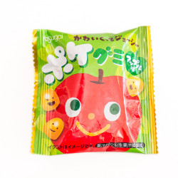 Kasugai Apple Gummy Candy Pocket