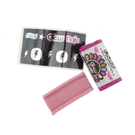 Vidal Glow Nails Bubble Gum