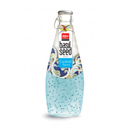 Basil Seed Drink Cocktail Flavour
