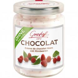 Grashoff Chocolat Blanc mit Himbeeren