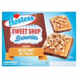 Hostess Brownies with Milky Way