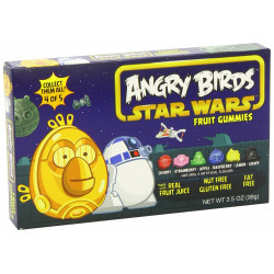 Angry Birds Fruit Gummies Red Box