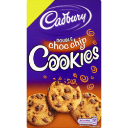 Cadbury Double Choc Chip Cookies