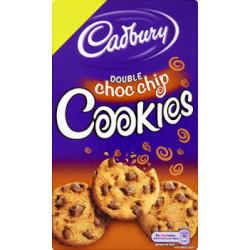 Cadbury Double Choc Chip Cookies