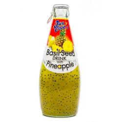 Jus Cool Basil Seed Drink Pineapple