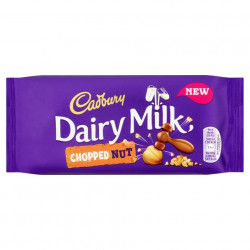 Cadbury Dairy Milk Chopped Nut Chocolate