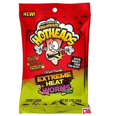 Warheads Hotheads Tropical Extreme Heat Worms
