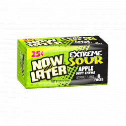 Now & Later Extreme Sour Apple