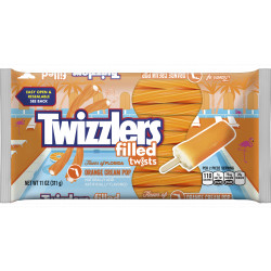 Twizzlers Flavours of America Orange Cream Pop Twists