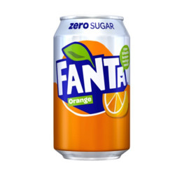 Fanta Orange Zero Sugar UK