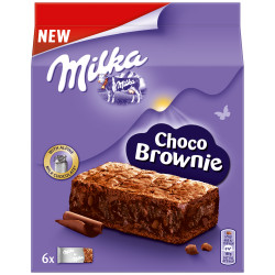Milka Choc Brownie 6 pack