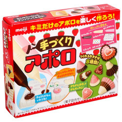 Meiji Apollo Chocolate Candy DIY