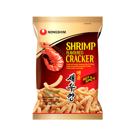 Nongshim Shrimp Flavoured Cracker Hot & Spicy