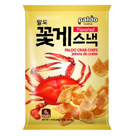 Paldo Crab Chips