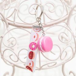 Brelok Macarons Pink