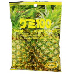 Kasugai Pineapple Gummy Candy