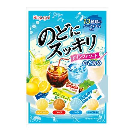 Kasugai Nodo Ni Sukkiri Drink Candy