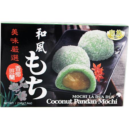 Royal Family Coconut Pandan Mochi