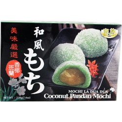 Royal Family Coconut Pandan Mochi