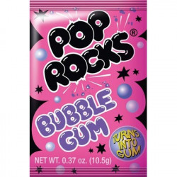 Pop Rocks Bubble Gum