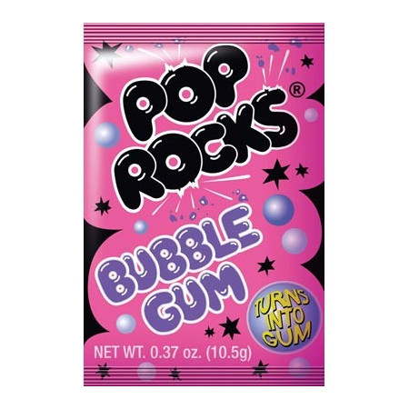 Pop Rocks Bubble Gum