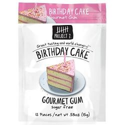 Project 7 Birthday Cake