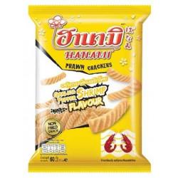 Hanami Prawn Crackers Garlic & Pepper
