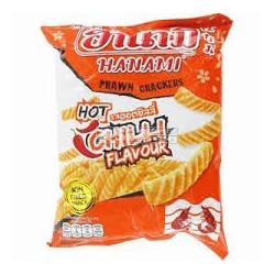 Hanami Prawn Crackers Hot & Chilli