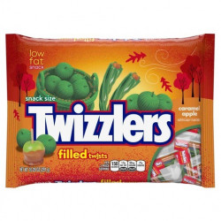 Twizzlers Snack size Caramel Apple Twists Big Bag