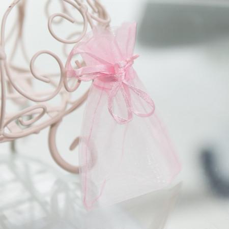 Kolczyki Pink Bow
