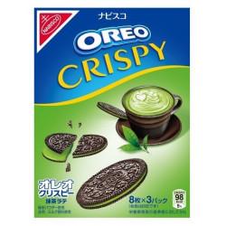 Oreo Crispy Matcha Latte